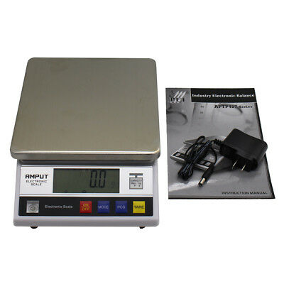 High Precision Digital Accurate Balance w/ Counting Function Lab Scale 10kgx0.1g