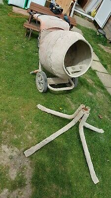 belle minimix 150 Electric Cement, concrete, mortar mixer 240v, with stand