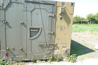 Army Radio Cabin Portable Workshop 4.4m long x 2.4m Wide USED