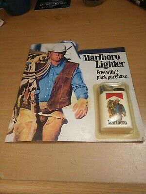 Marlboro Cigarettes Marlboro Man Disposable Lighter In Unopened package