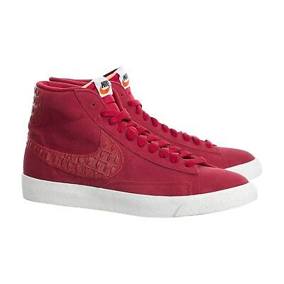 hot sale online f7be7 a6ebe NEW Nike Mens Blazer Mid Premium Shoes Vintage Gym Red 638261-601 Size 11.5