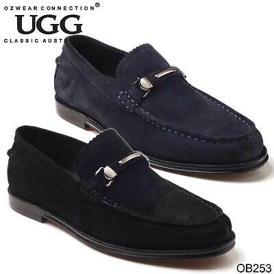 0b1bc5f7808 UGG OZWEAR MENS Oakley Loafer Genuine Leather Comfortable Casual Shoes Ob253