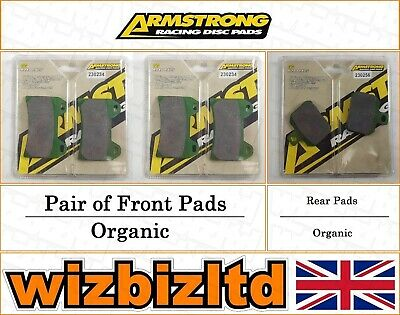 Armstrong Complete Brake Pad Kit Voxan Black Magic 2004-08 BK112189