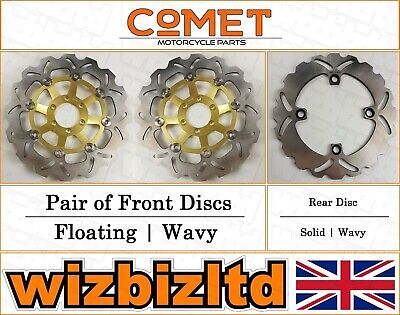 Comet Complete Brake Disc Kit Honda CBR 250 RR (MC22) 1990-94 BK232091