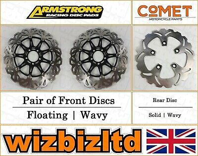 Armstrong and Comet Complete Brake Disc Kit Kawasaki ZXR 750 1993-95 BK120975