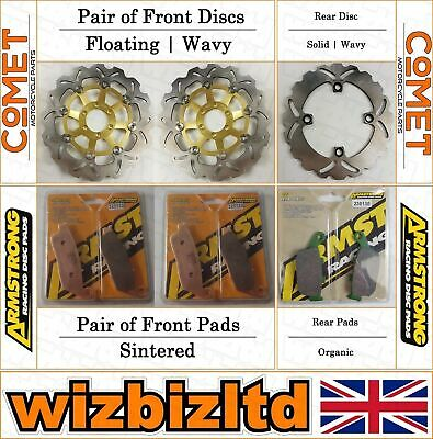 Armstrong and Comet Complete Brake Kit Honda CBR 250 RR (MC22) 1990-94 BK232116