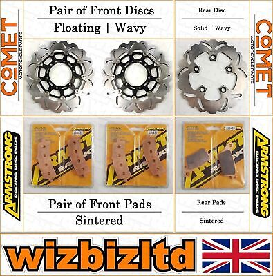 Complete Brake Kit Suzuki GSXR 600 (Brembo Calipers) 2011-15 BK232233