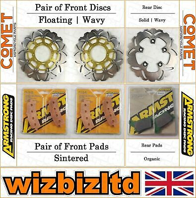 Complete Brake Kit Suzuki GSXR 600 (Brembo Calipers) 2011-15 BK232343