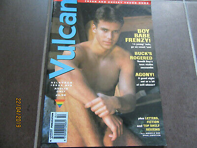 Vintage Vulcan magazine. Issue 2 Relaunch issue. 1995.  Gay interest.