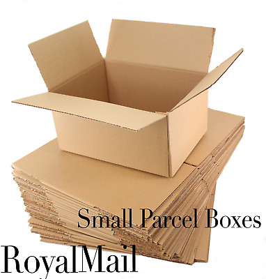 Royal Mail Cardboard boxes small parcel 31x23x6cm, 5 10 25 50