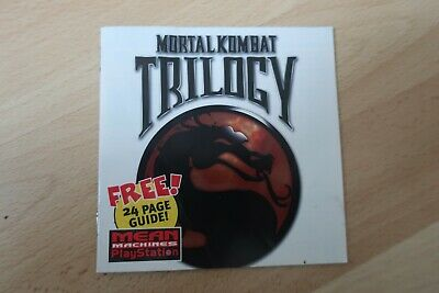 Mortal kombat trilogy free guide from Mean Machines playstation Magazine