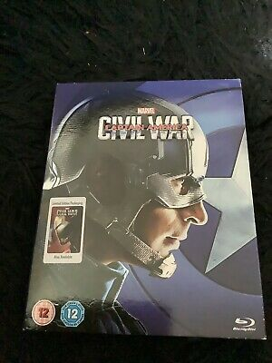 Captain America: Civil War  [Blu-ray] [2016] ONE DISC WITH SLIP CASE