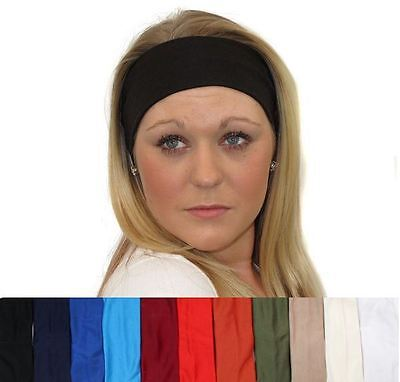 Swirl Stretch Headband Retro Wide Wild  Sports Dance Gym Bandeau Kylie Hair Band