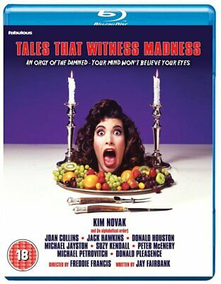 TALES THAT WITNESS MADNESS - Blu Ray Disc - Joan Collins..