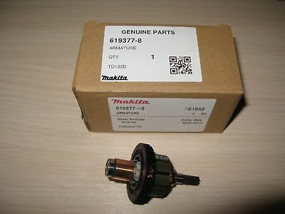 1pc N19341 Genuine Makita Armature For Makita DTD152RME DTD152 TD152D XDT11 UK