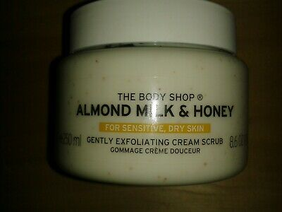 The Body Shop Almond Milk And Honey Body Scrub 250ML