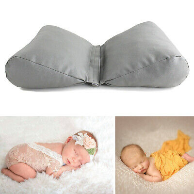 Newborn Infant Leather Butterfly Shape Pillow Cushion Photography Photo Props