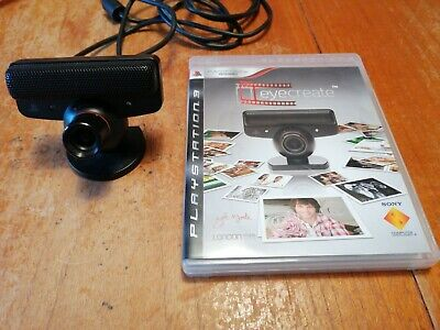Eye Create for Sony Playstation 3 PS3 Game Complete with Camera Freepost mint