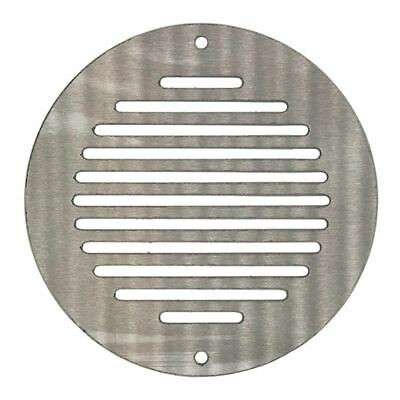 200mm Round Ventilation Grille Stainless Steel