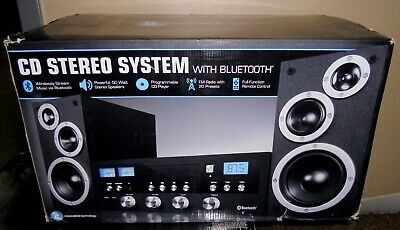 New Innovative Technology Classic 50W Stereo w/ CD FM Bluetooth ITCDS-5000
