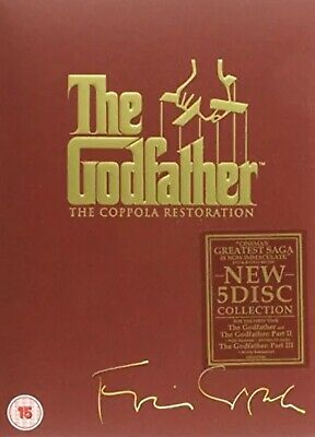 The Godfather Trilogy: The Coppola Restoration 5 DVD Box Set