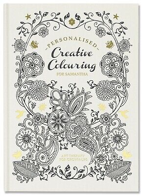 Creative personalised colouring book
