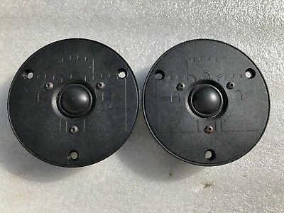 Castle Acoustics Tymphany/ Vifa / Seas tweeters New old stock PAIR PRICE