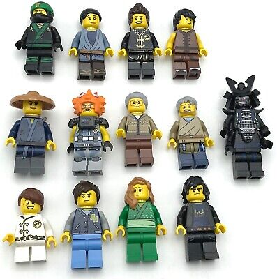 Lego New Ninja Minifigures from MOVIE Set 70657 Ninjago City Docks YOU PICK!!