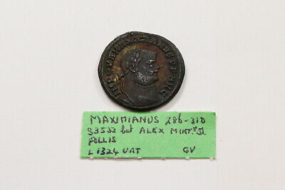 Maximianus 286 - 305 Nice Toning Better On Hand A97 #Z6627