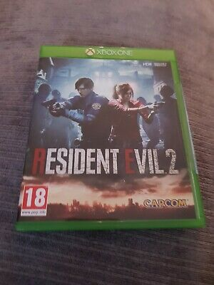resident evil 2 xbox one very good condition