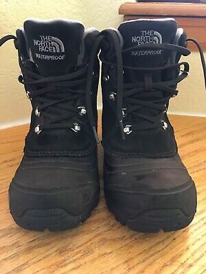 917c3986b NORTH FACE BOYS SIZE 12 Waterproof Boots Shoes Heat Seeker Insulated ...