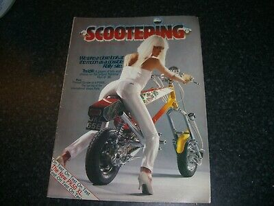 Scootering magaizine october 1986