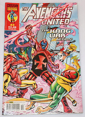 The Avengers United Collector's Edition Comic No.42 28th July 2004