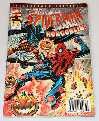 The New Astonishing Spider-Man Collector Edition Comic No.40 11th November 1998