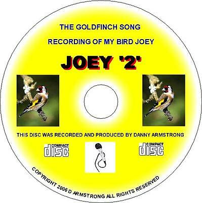 \Pure English Goldfinch Song Cd - Joey 2