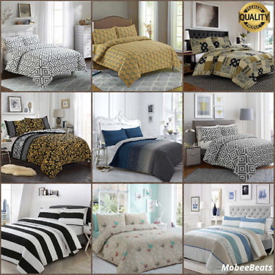 Bedding Land 100% Egyptian Cotton Printed Duvet Cover Sets  All sizes Bedding