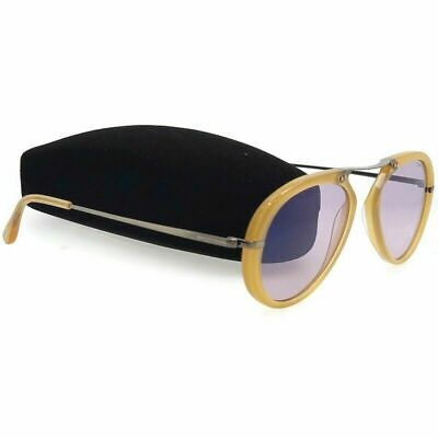 7da219a931e22 New Tom Ford Aaron Aviator Sunglasses FT0473 39Y TF473 Yellow   Violet Italy