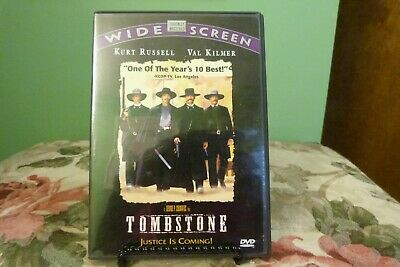 Tombstone DVD Wide Screen Near Mint Condition