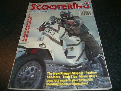 scootering magazine July 1993