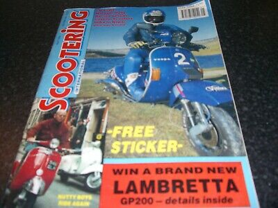 scootering magazine may 1994