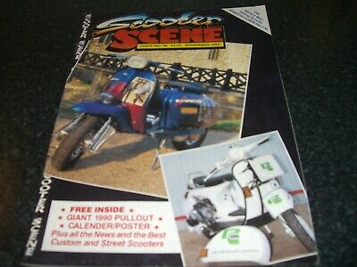 scooter scene magazine november 1989