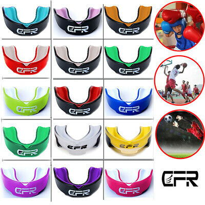 Sport Gel Gum Shield Mouth Guard Kids Junior MMA Boxing Rugby Teeth Protection