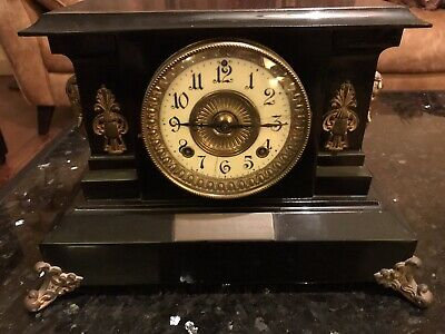 Antique Ansonia Mantle Clock - In Working Order