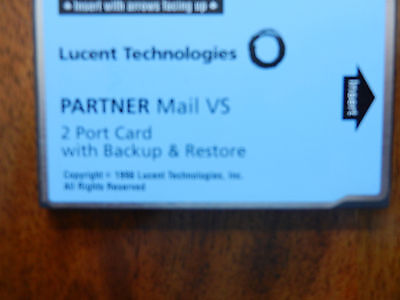PARTNER Mail VS 4 Port Expansion Card With Backup And Restore