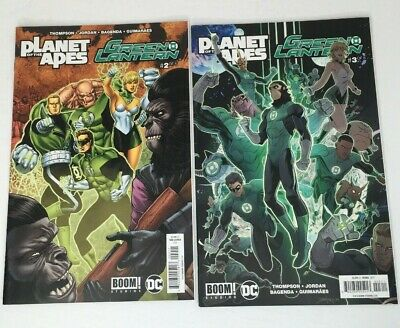 Planet of the Apes Green Lantern #1-6 COMPLETE SET BOOM #2 Perez Variant