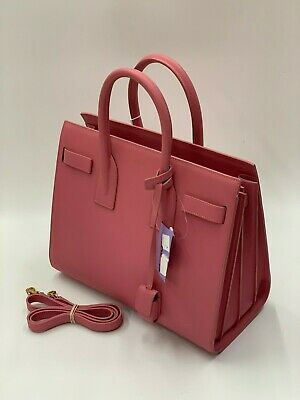 a8506cc092 YVES SAINT LAURENT Baby Sac De Jour Blush Pink in Grained Leather ...