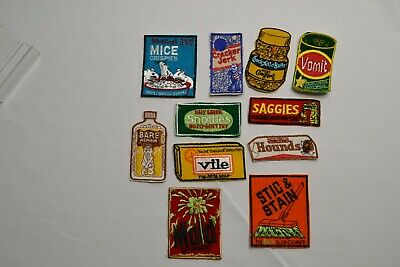 KOOKY PATCH Wacky Packages Original SET OF 11 Patches