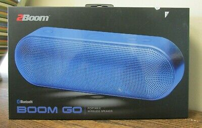 2BOOM BOOM GO Wireless Bluetooth Portable Speaker With Built