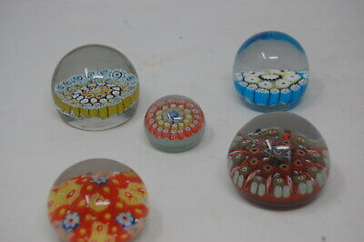 Strathearn Glass Paperweights + other Millefiori Paperweights