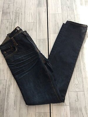 7 For All Mankind Blue Paxtyn Skinny Jeans W26/L28*